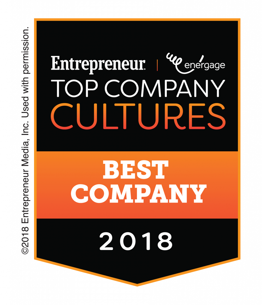 AAG Makes Entrepreneur Magazine's 2018 Top Company Cultures List