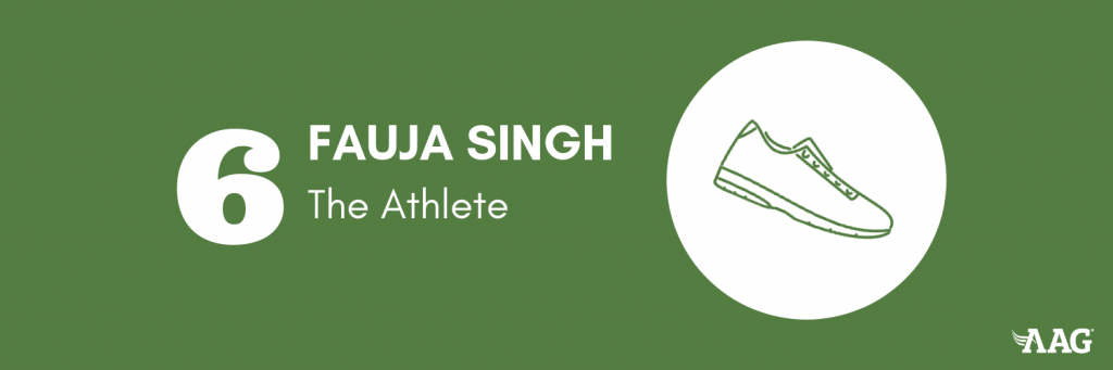Fauja Singh  Became Famous in Their Older Years