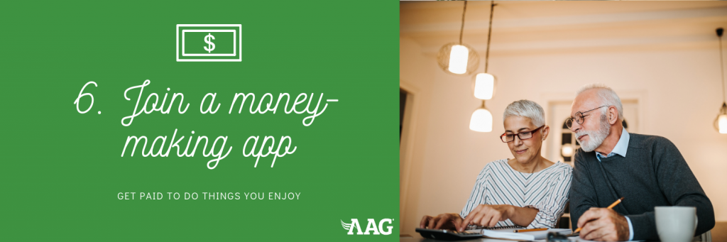 Join A Money Making App in Retirement