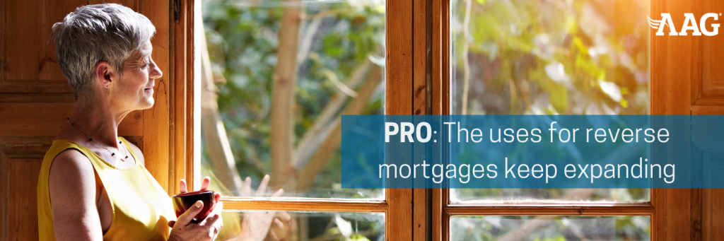 Pro of a Reverse Mortgage Loan