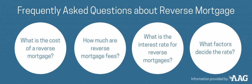 True Costs of a Reverse Mortgage FAQ