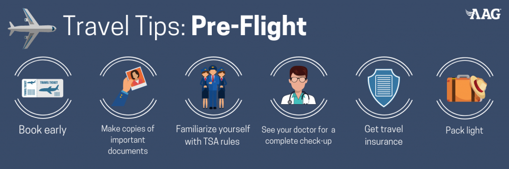 Travel Tips for Pre-Flight