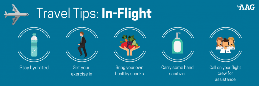 Travel Tips for In-Flight