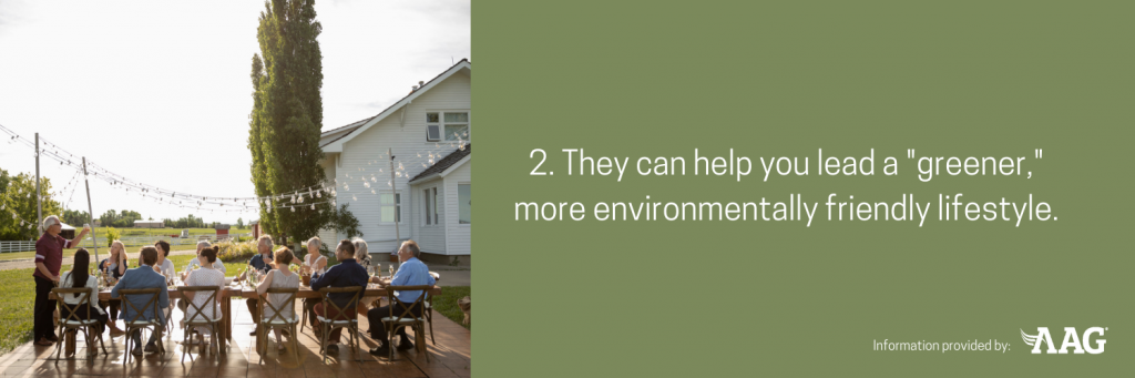 Neighbors can help you lead a greener more environmentally friendly lifestyle