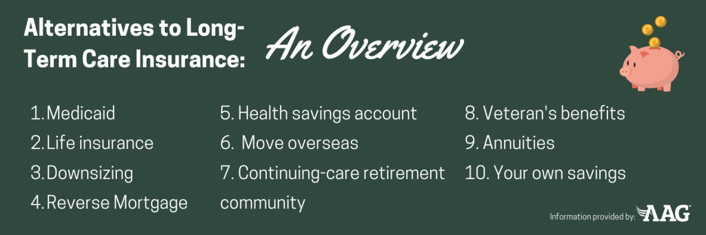 Alternatives to long term care insurance