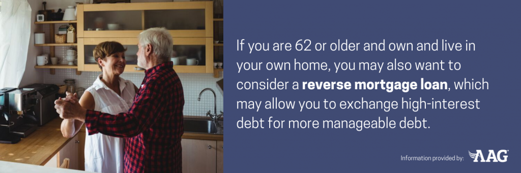 Consider a reverse mortgage loan
