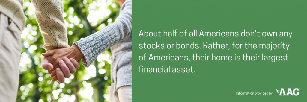 half of all Americans don't own any stocks or bonds