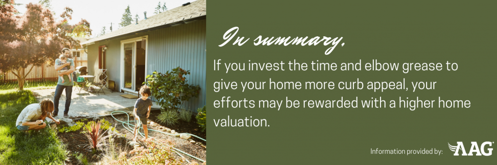 Invest time to give your home more curb appeal