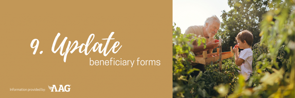 Update beneficiary forms