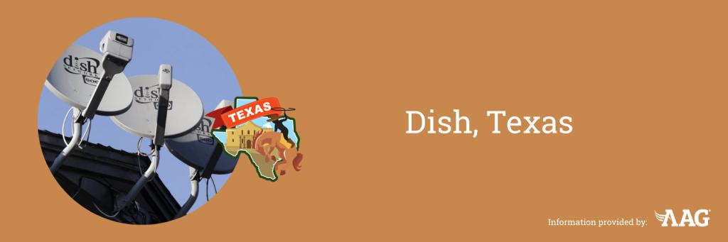 Dish sign