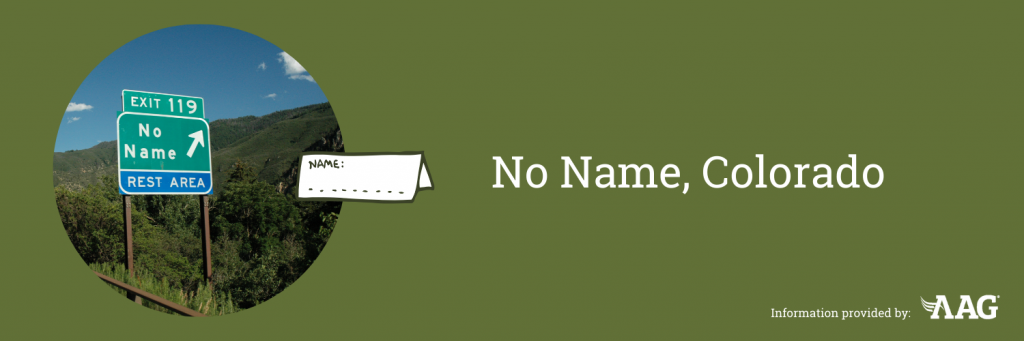 No Name Sign