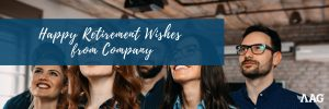 Happy Retirement Wishes from Company