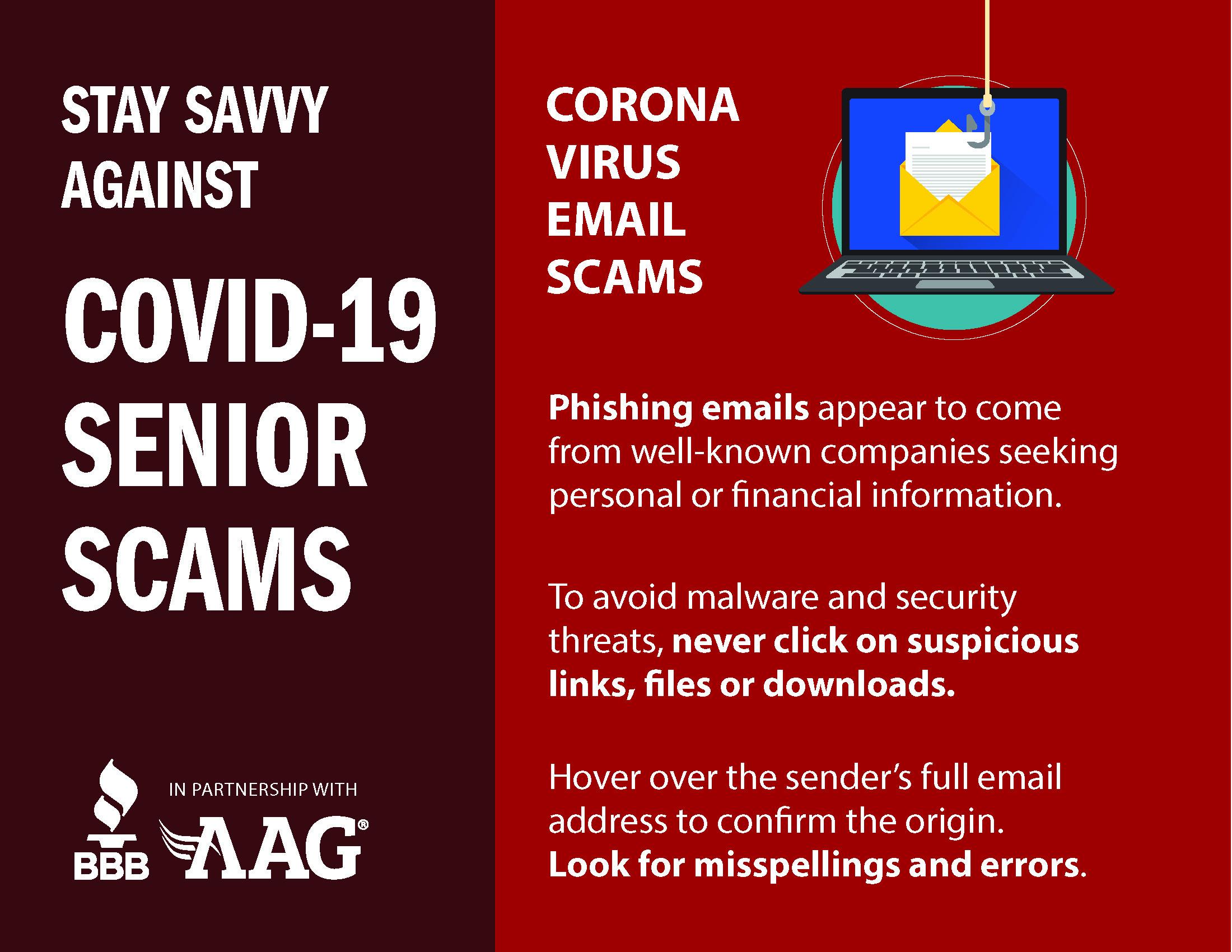 Coronavirus Email Scams
