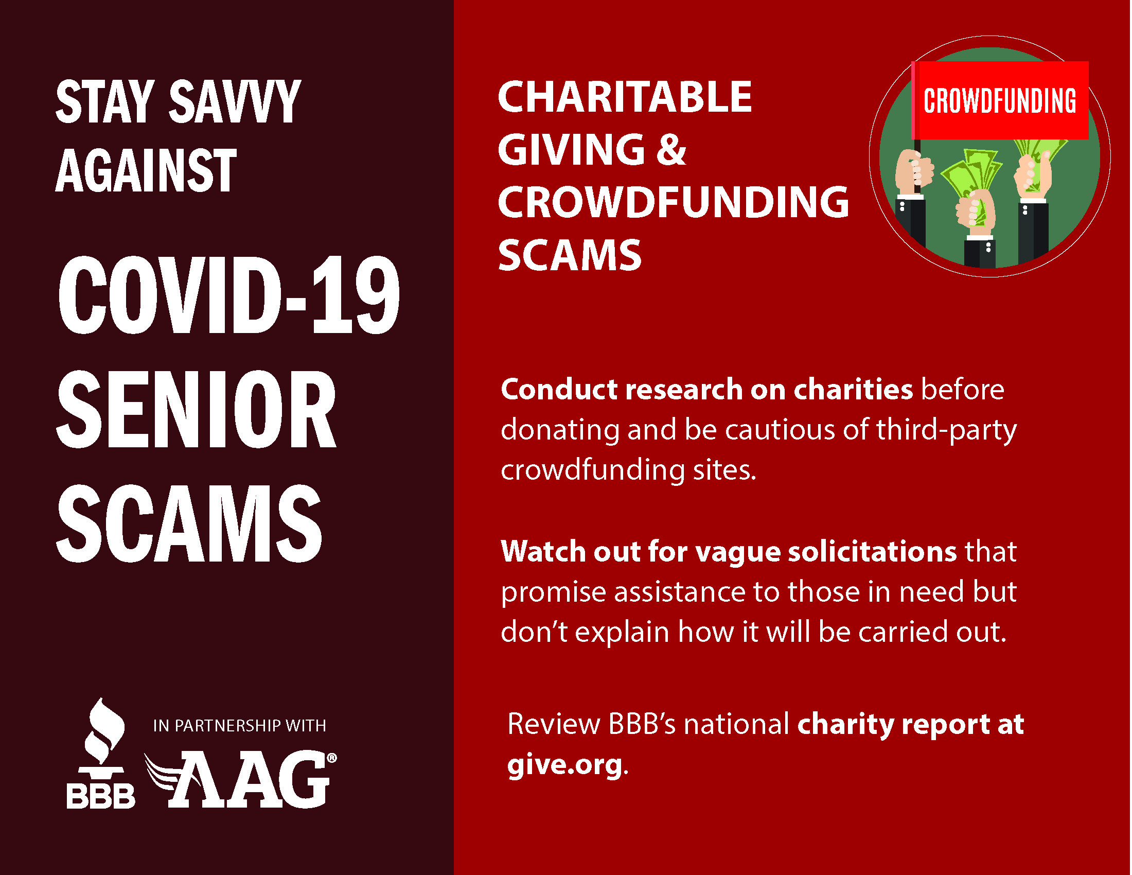 Charitable Giving & Crowdfunding Scams