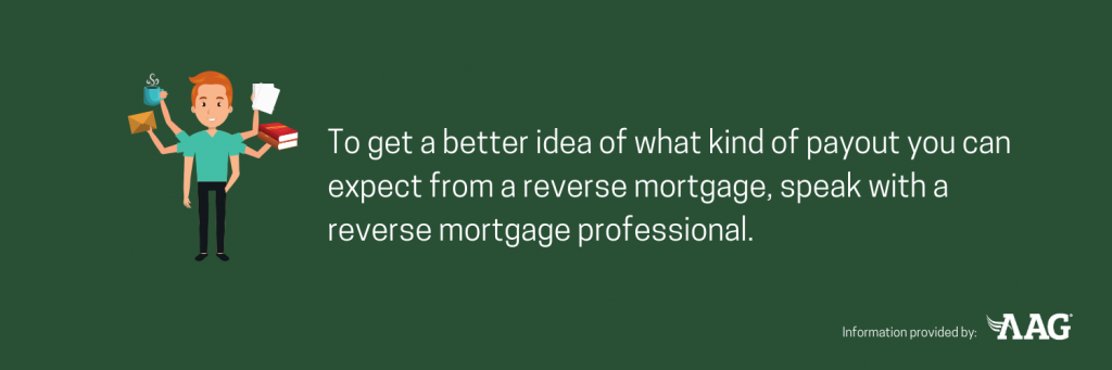 Speak with a reverse mortgage professional